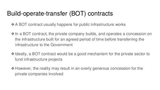 build operate transfer contract pdf
