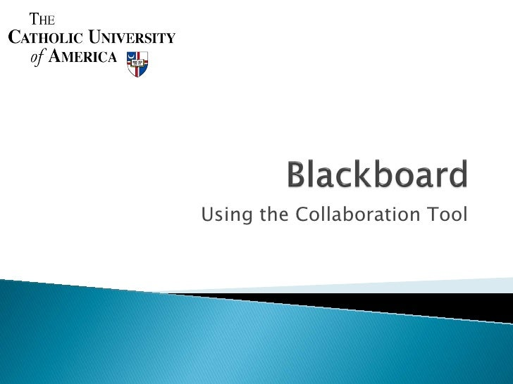 Using the Collaboration Tool