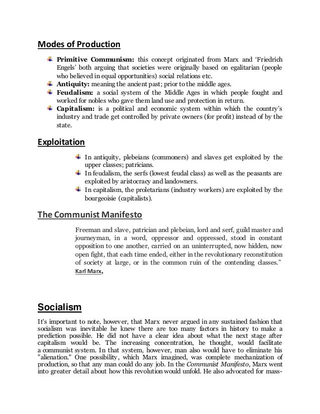 an analysis of karl marxs theories and ideas of socialism Capitalism functions in distinction from socialism, or various theories of economic organization that advocate public or market socialism refers to various economic systems where the means of production are either publicly the significance of socialism: karl marx helped to create the.