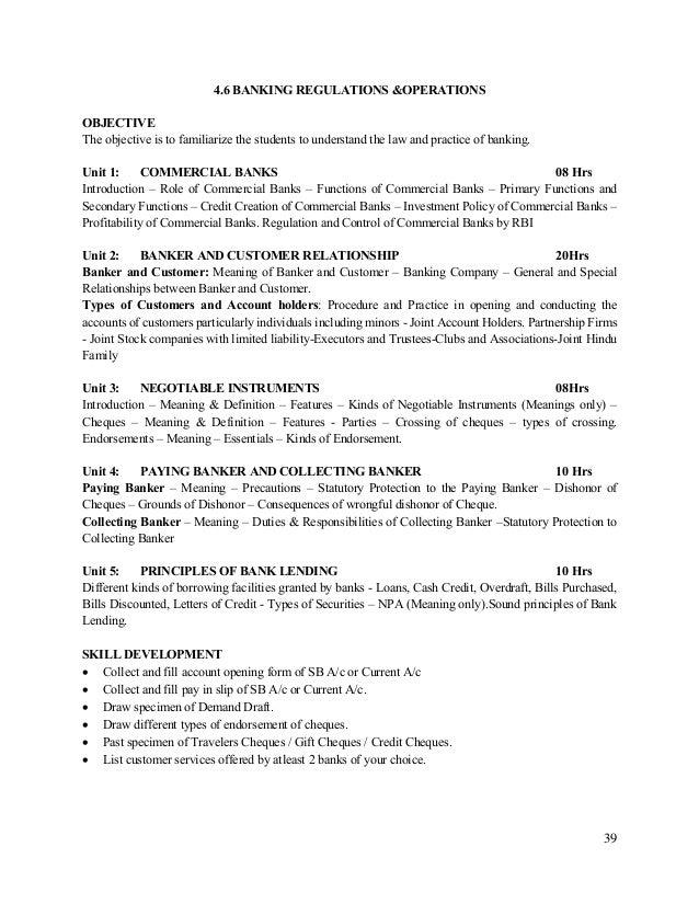 negotiable relationship list
