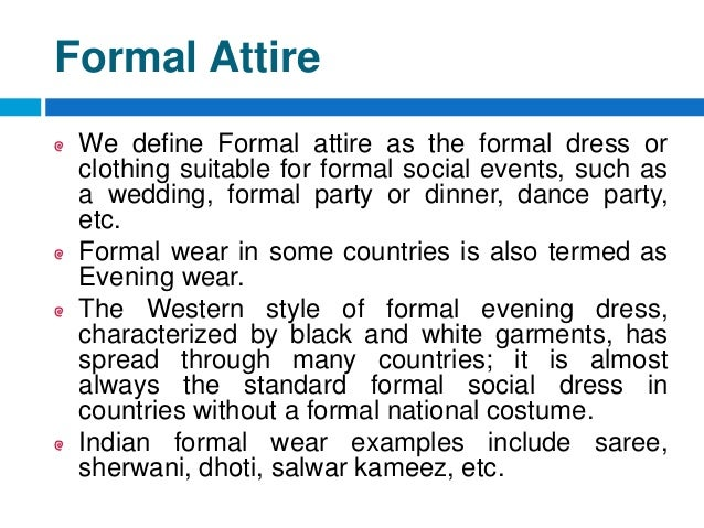 Bba Ii Unit V Dress For Success Dressing Skills