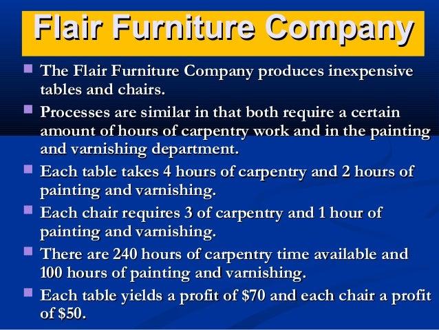 Flair Furniture Company ...