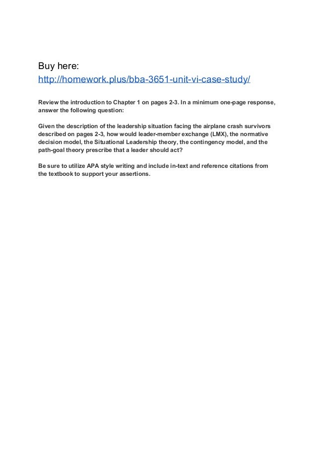 unit 6 case study 1 Sc2730 microbiology assignment unit 6: biotechnology case study i robert denker had made his money in real estate he began with one apartment building and now he owned.