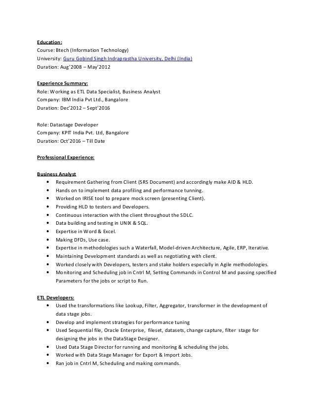 Performance Profiling Tools Net Developer Resume