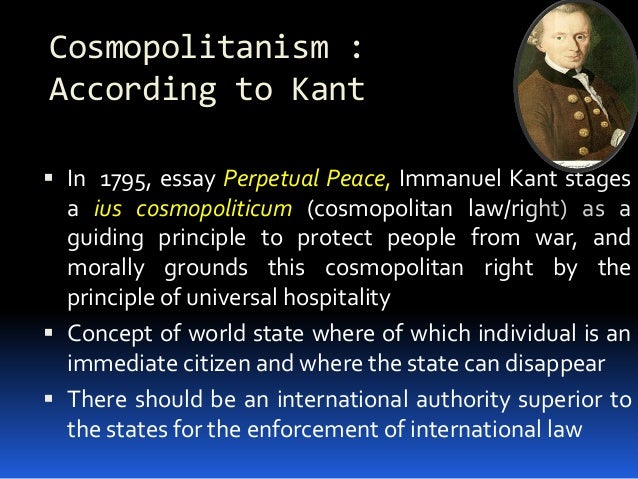 essays on immanuel kant