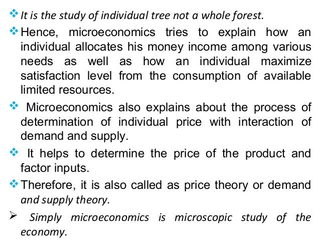 What Are the Basic Concepts of Microeconomics?