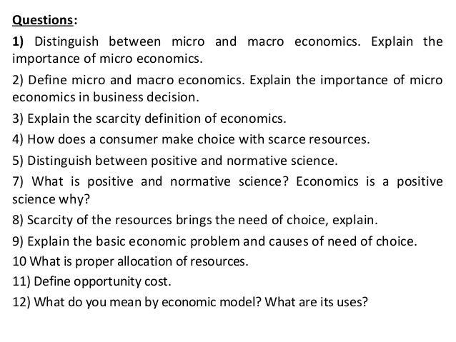 similarities between micro and macro economics Microeconomics and macroeconomics are subsets of economics which examines how what is the difference between micro and macro microeconomics vs macroeconomics.