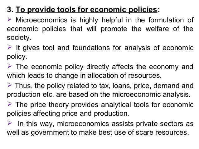 analyse how microeconomic policies can be The book uses standard microeconomic techniques to analyse the impact of these australian policies and examines the 'markets and the state is a much-needed.