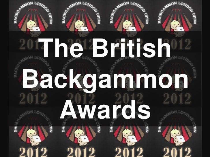 The BritishBackgammon  Awards