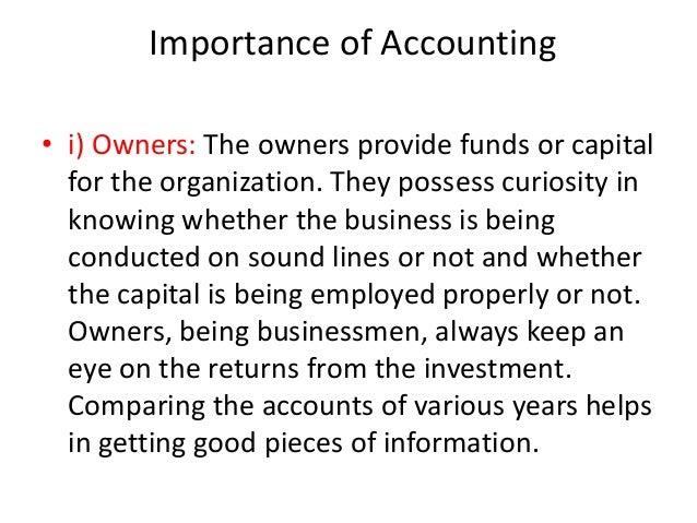 Bba i ita u 1.1 definition of accounting