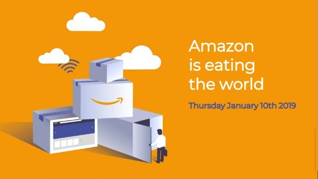 Amazon is eating the world