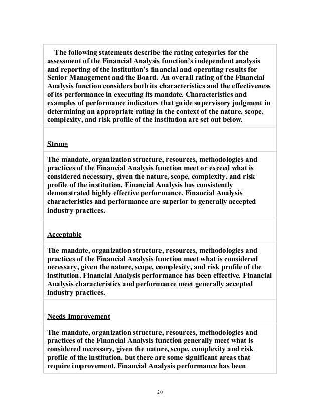 bba project 6 12 quality of financial analysis 19 20
