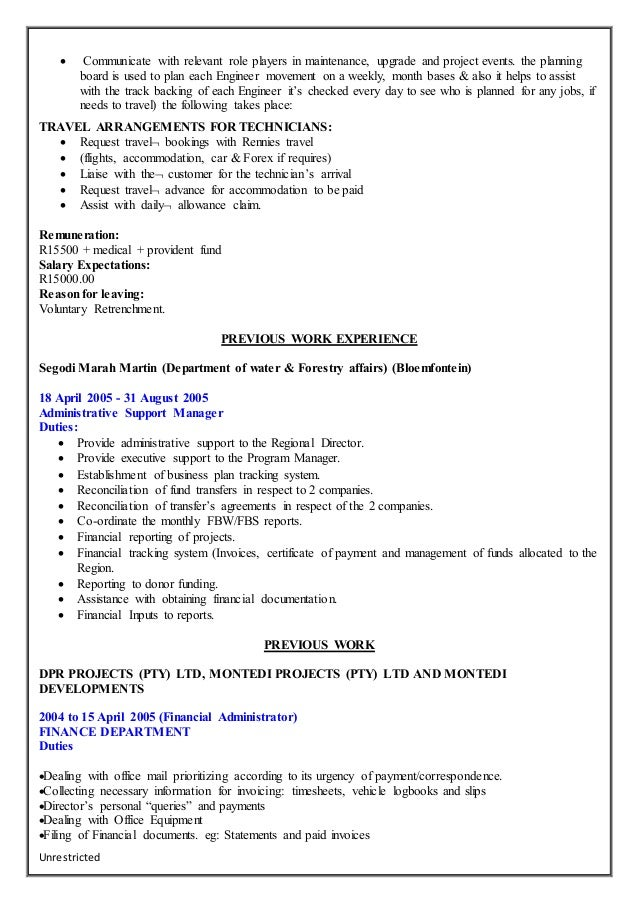kuki w thabane curriculum vitae 1