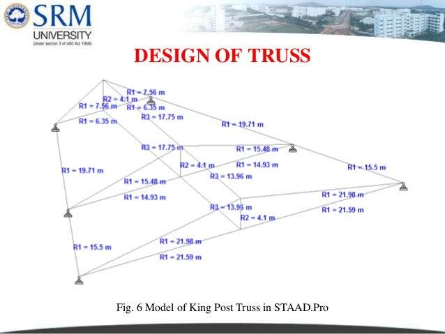 Kingpost Roof Truss Design Design Ideas