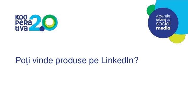 Poți vinde produse pe LinkedIn?