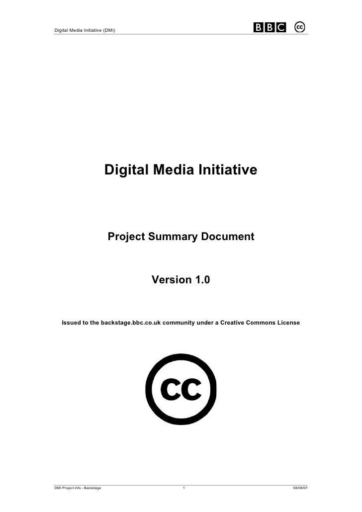 Digital Media Initiative (DMI)                                    Digital Media Initiative                                ...