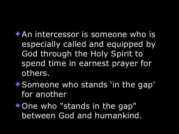 PRAYER & INTERCESSION - a teaching series