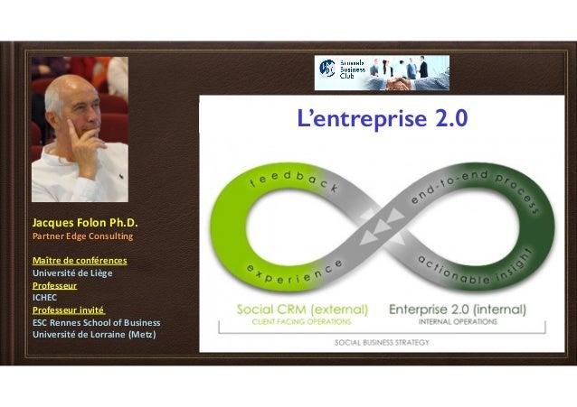 JacquesFolonPh.D. PartnerEdgeConsulting Maîtredeconférences UniversitédeLiège Professeur ICHEC Professe...