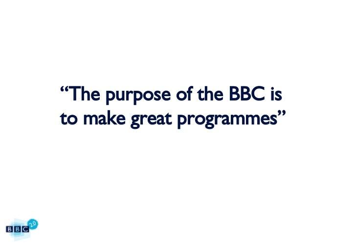 BBC2.0: The BBC's 15 Web Principles Slide 3