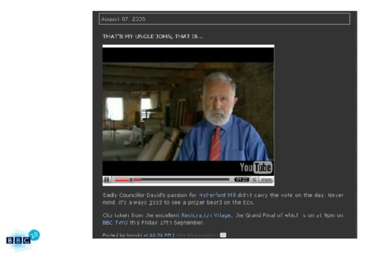 BBC2.0: The BBC's 15 Web Principles Slide 42