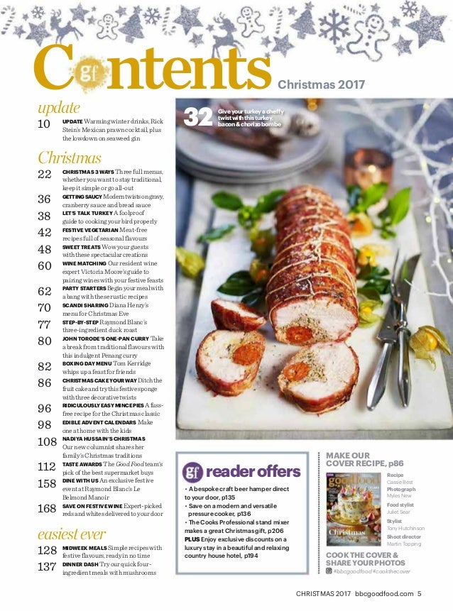 Bbc good food christmas 2017 uk 5 christmas 2017 bbcgoodfood 9 youllndthreemorechristmasdaymenusonp22achristmasevesupperonp72andaboxingdaylunchonp82 cocktailscanaps forumfinder Gallery