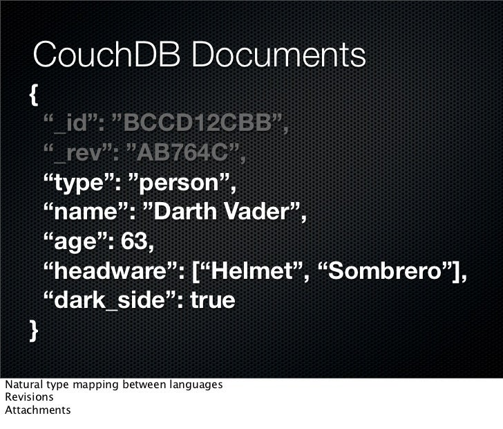 Introduction into CouchDB / Jan Lehnardt