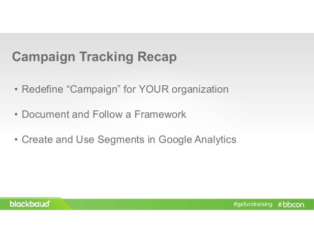 bbcon 2016 using google analytics as a fundraising powerhouse