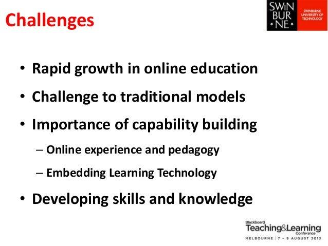 Engaging Academics:Online  Professional Development Slide 3