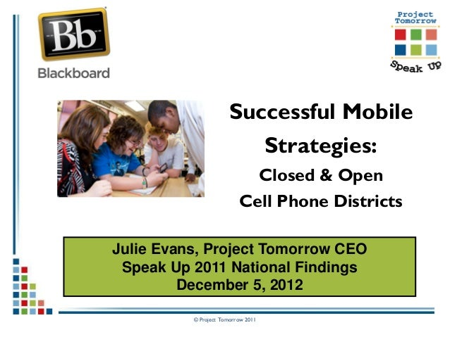 Successful Mobile                         Strategies:                                    Closed & Open                    ...