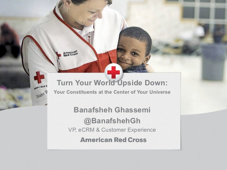 Turn Your World Upside Down:Your Constituents at the Center of Your Universe        Banafsheh Ghassemi          @Banafsheh...