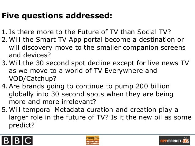 BBC Presentation - Future of TV - Orchestrated Media - New Gatekeepers in the Living Room Means More Disruption (Or Democratisation) of TV Industry  Slide 3