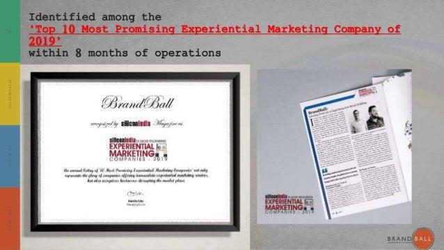 BrandBall Credentials August 2021 Slide 3