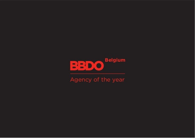 Belgium Agency of the year