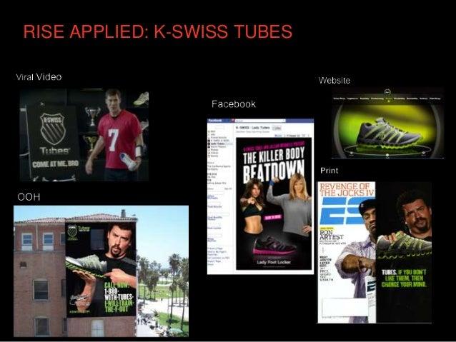 RISE APPLIED: K-SWISS TUBES