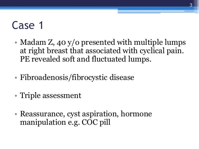 benign breast disease Slide 3