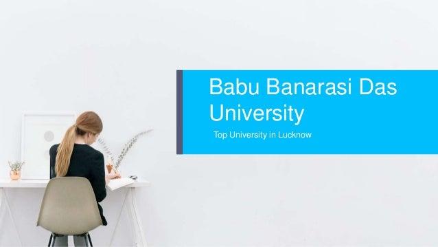 Babu Banarasi Das University Top University in Lucknow