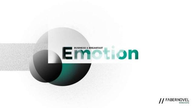 Business&Breakfast : l'émotion au coeur de l'expérience client