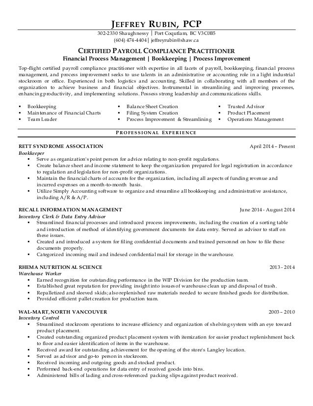 Admin Resume Black Headers. JEFFREY RUBIN, PCP 302 2330 Shaughnessy │ Port  Coqutlam, BC V3C0B5 (604 ...  Resume Headers