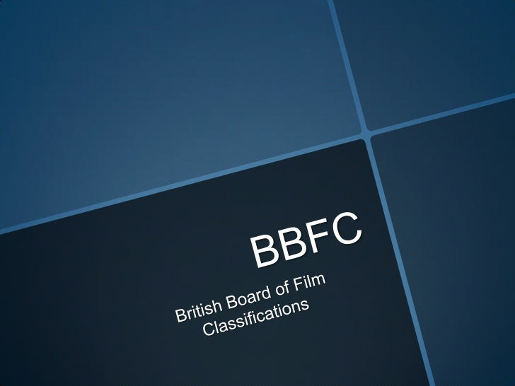 BBFC British Board of Film Classification