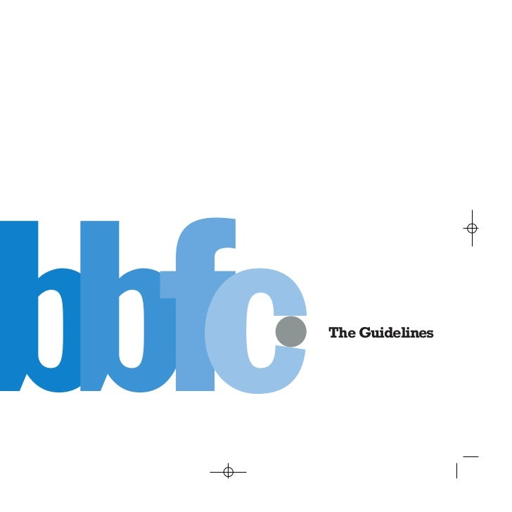 bbfc   The Guidelines