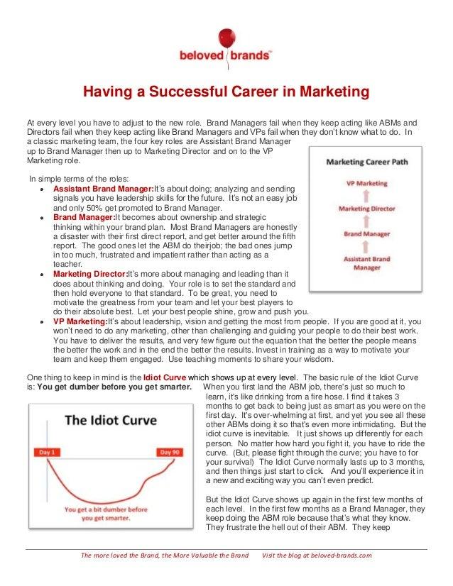 Successful Careers in Marketing  FREE DOWNLOAD Slide 2