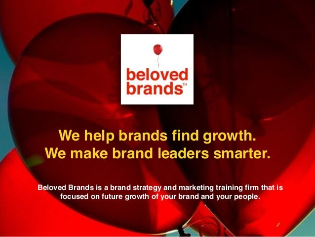 We help brands find growth. We make brand leaders smarter. We help brands find growth. We make brand leaders smarter. Belov...
