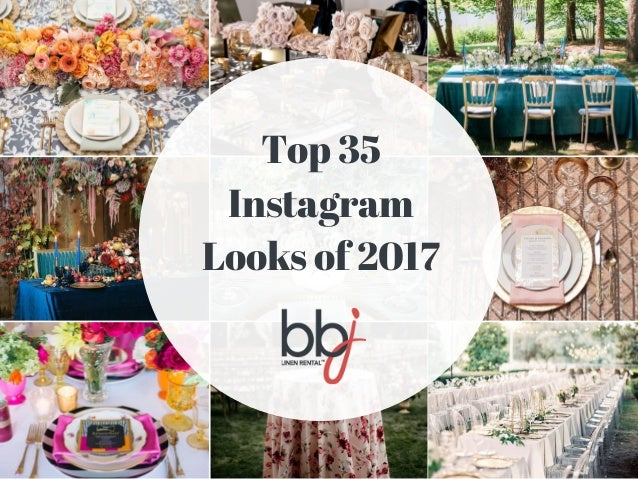 Top 35 Instagram Looks of 2017