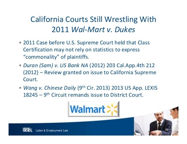 BB&K Labor and Employment Update 2013