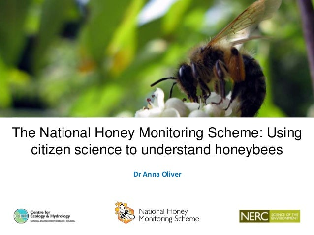 The National Honey Monitoring Scheme: Using citizen science to understand honeybees Dr Anna Oliver