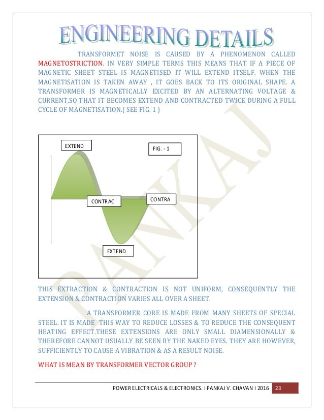 Electrical Design calculations