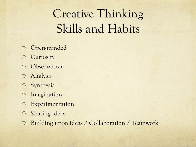 Appendix f promoting creative thinking and curiosity