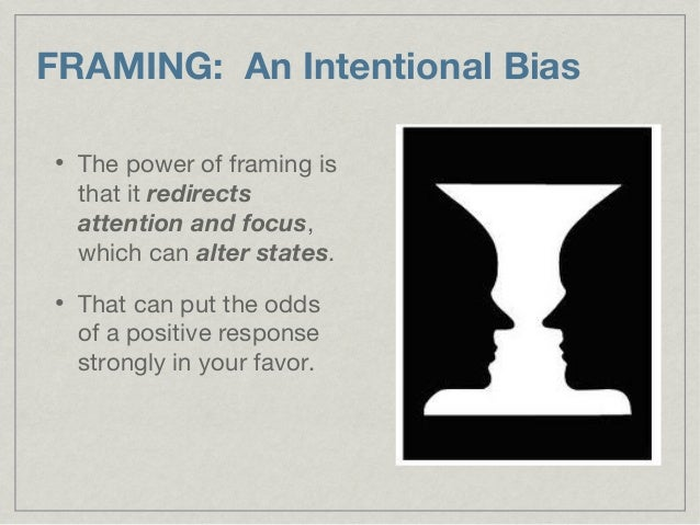 Intentional Bias Definition & 70. FRAMING An Intentional Bias ... Sc ...