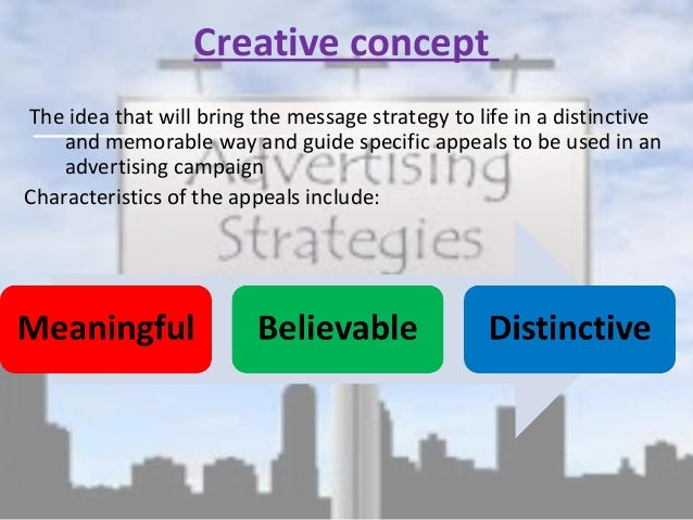 develop an advertising strategy and brief The marketing strategy page of develop an increase in sales while achieving a status quo state or decrease in marketing expenses develop awareness of the.