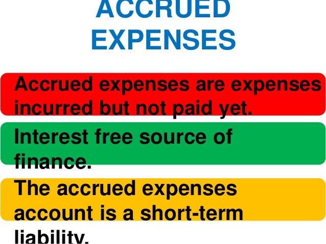 trade credit, accrued expenses and deferred income